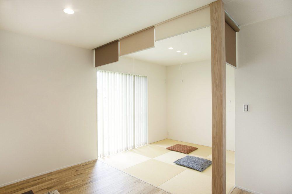 ゲストルームにもなる畳スペース