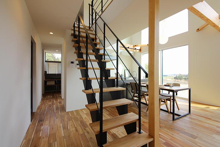 圧倒的な開放感のある家