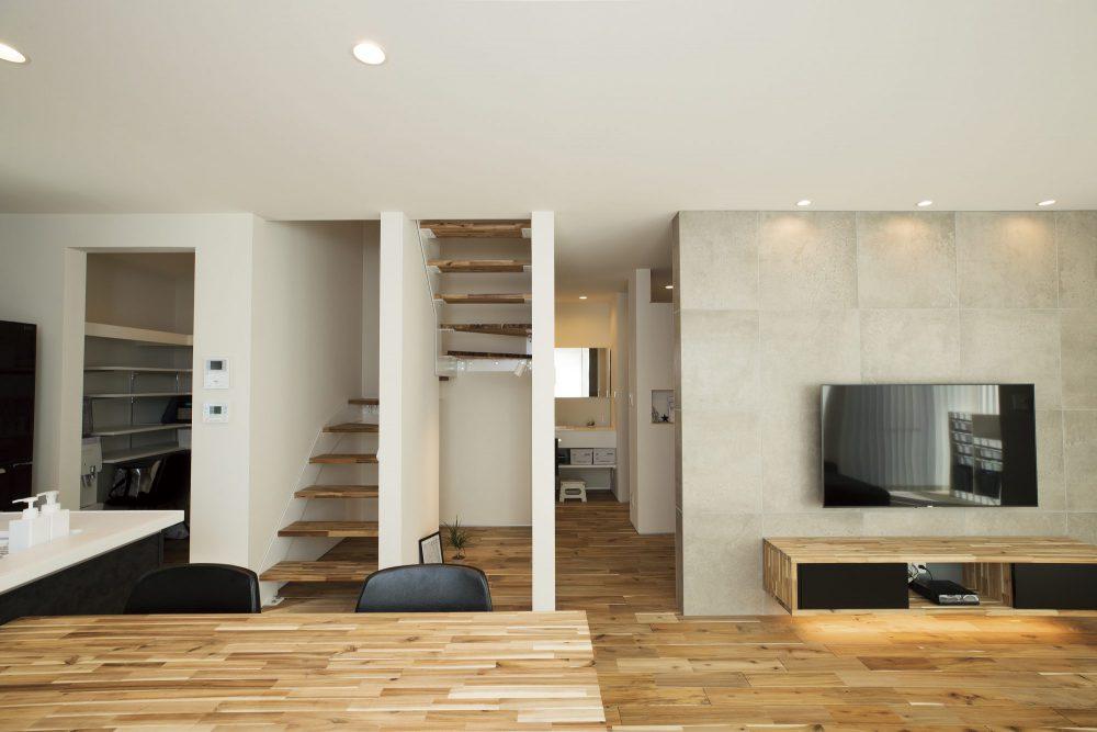 壁を最小限にして室温を均等にする設計の工夫