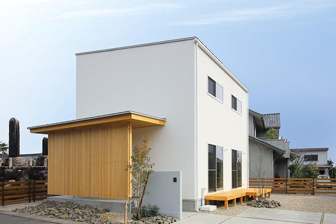 北欧風の家