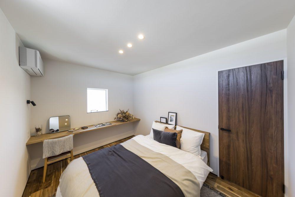 大人ヴィンテージな寝室